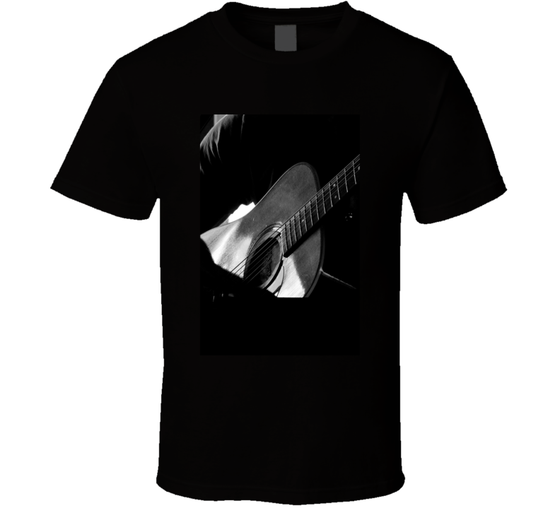 Guitar T Shirt Musician Photo Photography Gift