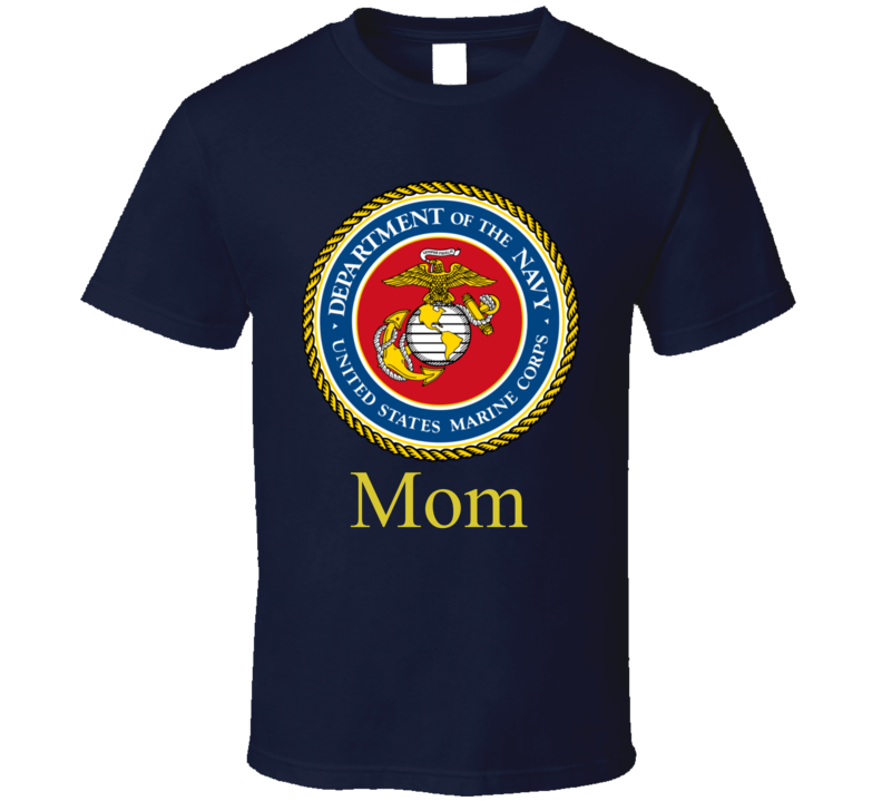 Navy Mom T Shirt Military Gift Mother's Day Son Daughter