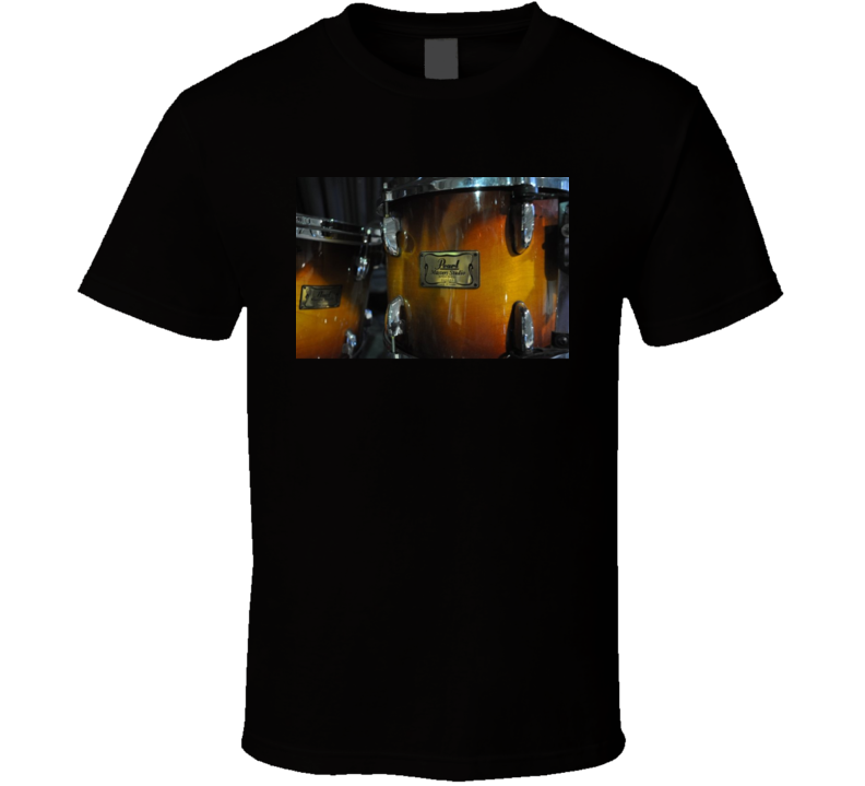 Pearl Masters Drum T Shirt Drums Drummer Music Photography Gift