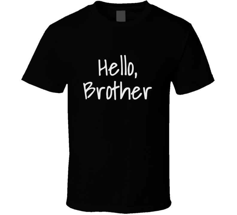 Hello Brother T Shirt New Zealand Muslim Mosque Shootings