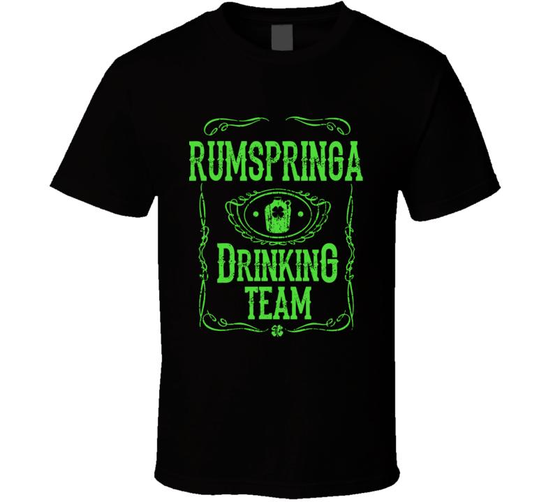 Rumspringa Drinking Team T Shirt Funny Amish Gift