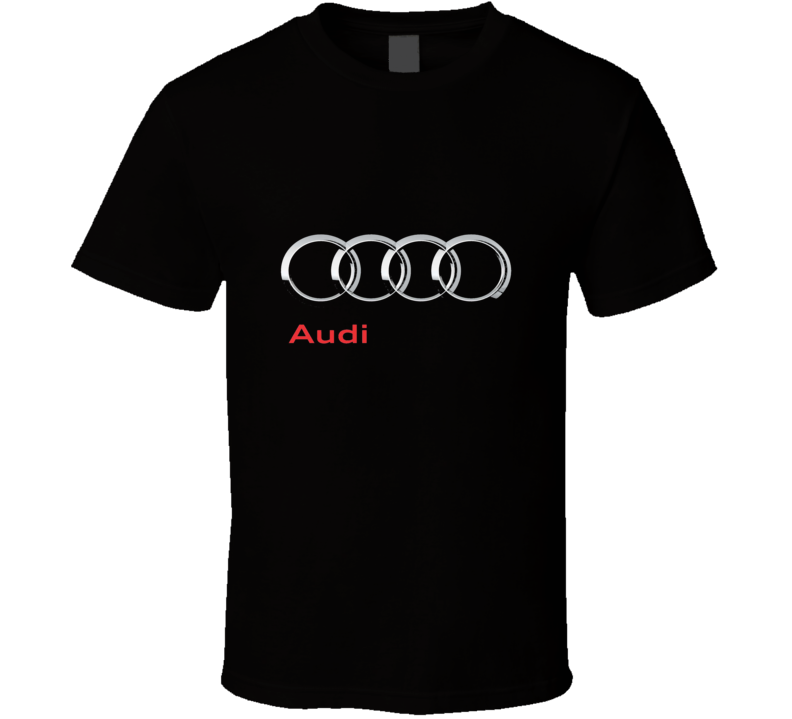 Audi T Shirt Car Cars Father's Day Mother's Gift