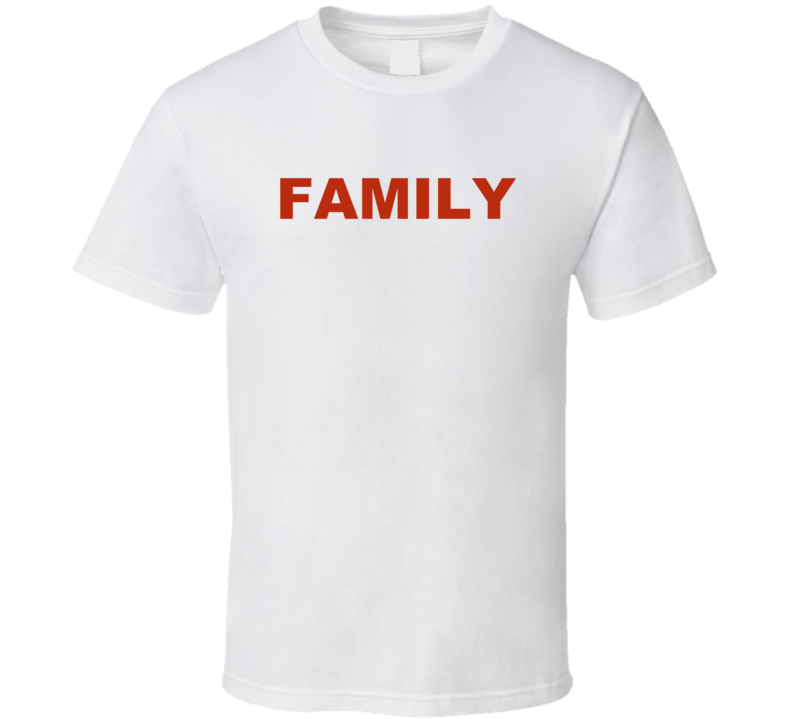 Family T Shirt Gift Simple