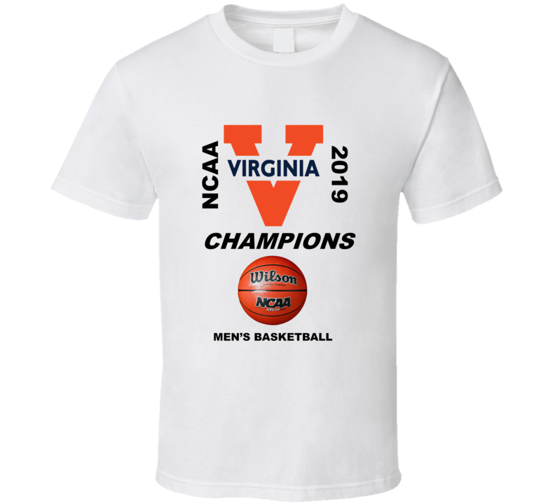 Virginia 2019 Champions Men's Basketball White Gift
