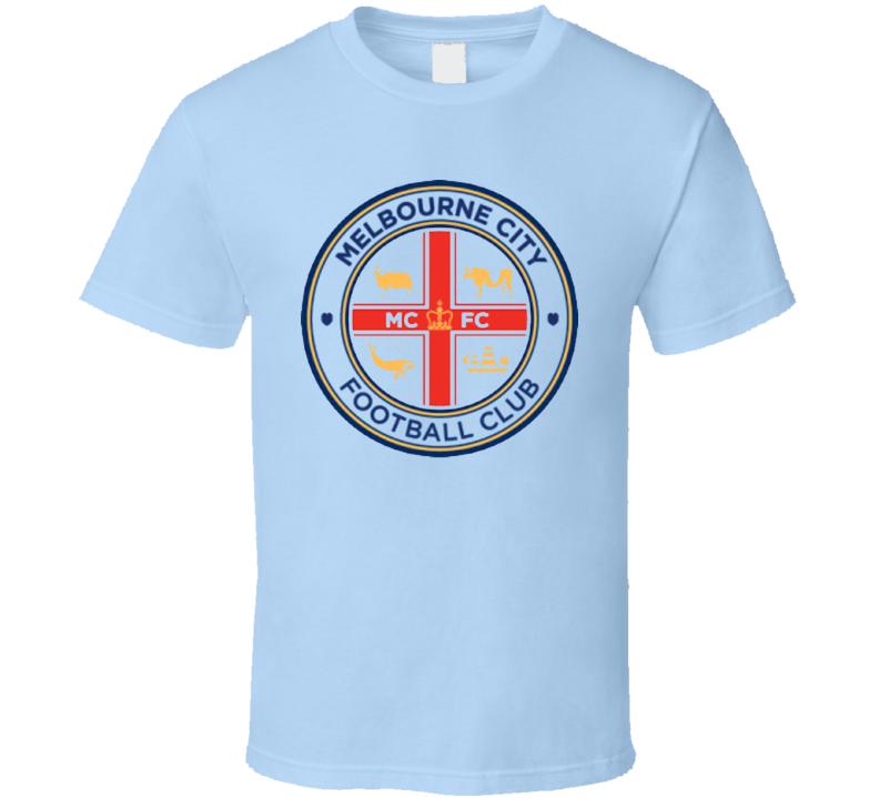 Melbourne City Football Club T Shirt Soccer Gift Australia