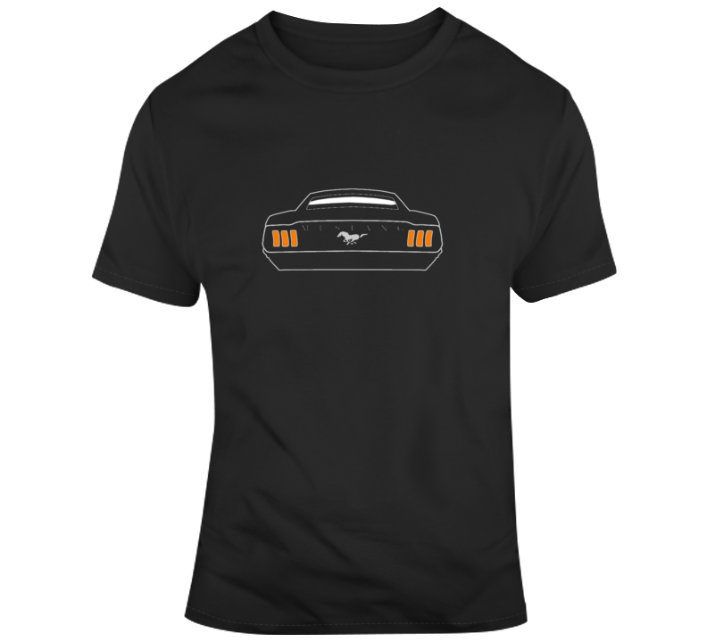 1967 Mustang Fastback Tail Lights T Shirt Gift Father's Day