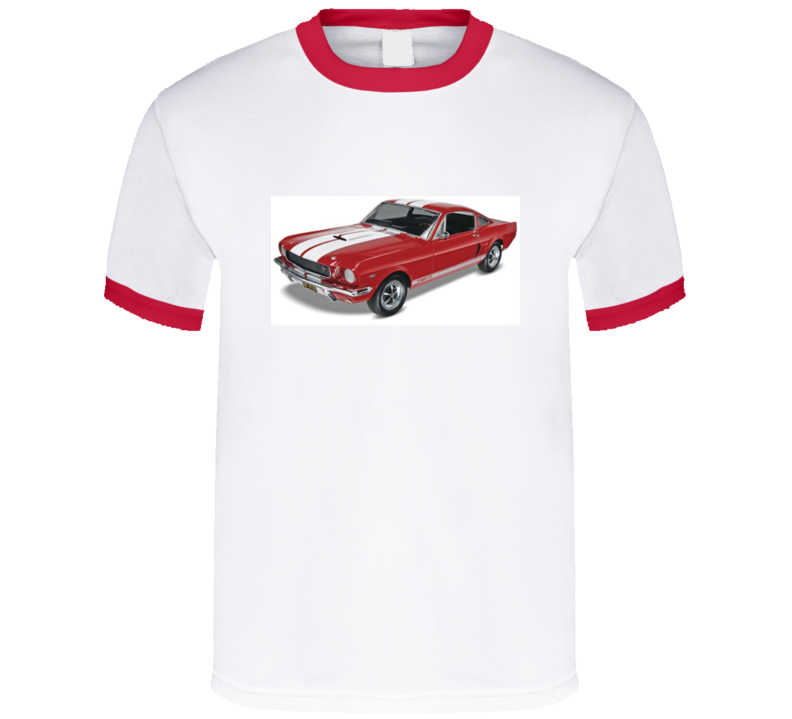 1966 Shelby Mustang Muscle Car GT350 Carroll Shelby Ford  T Shirt   Gift Father's Day