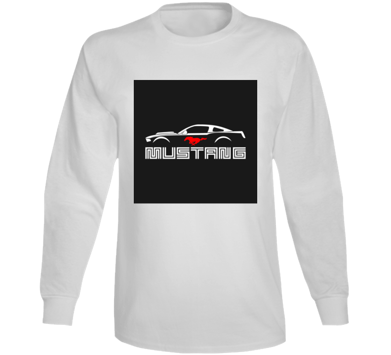 Mustang Shirt Ford  Running Horse GT American Muscle Car Cars T Shirt Gift Fastback Father's Day