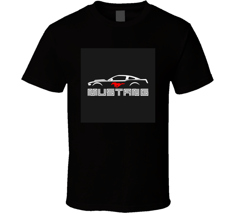 Mustang Shirt Ford  Running Horse GT American Muscle Car Cars T Shirt Gift Fastback