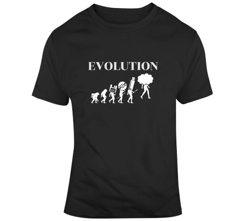 Computing Evolution T Shirt Gift Computers Programming  Software Technology Developer  Computer Science