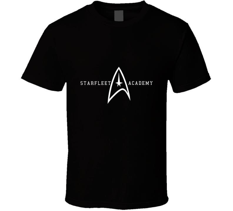 Starfleet Academy Star Trek Enterprise Federation Gift Kirk Spock T Shirt