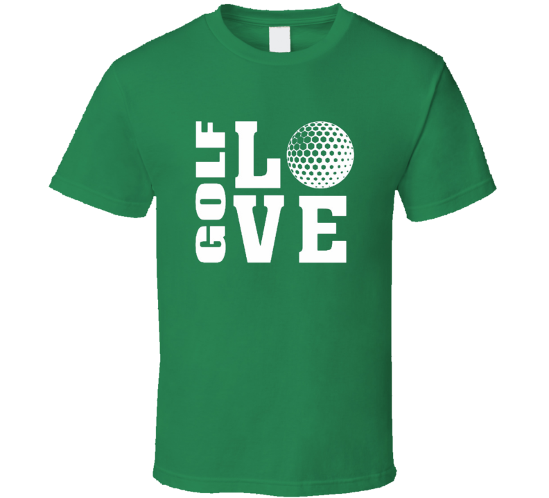 Love Golf Tshirt Gifts For Golfer Fathers Day Golf Dad T Shirt