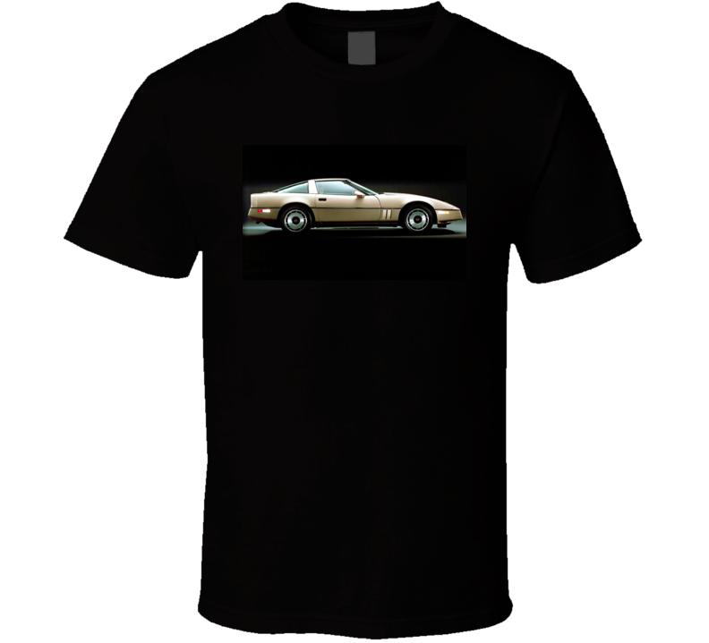 1984 Corvette Tshirt Chevrolet Vette Musclecar T Shirt