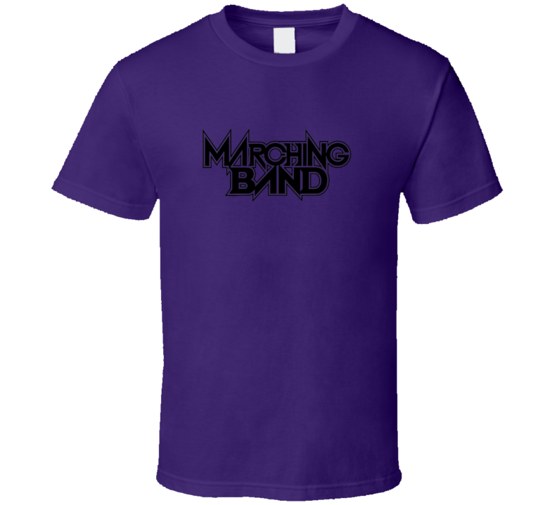 Marching Band Tshirt Drumline Brass Woodwinds Pit Flags Guard Band Camp  Drum Percussion Drum Major Parent Mom Dad T Shirt