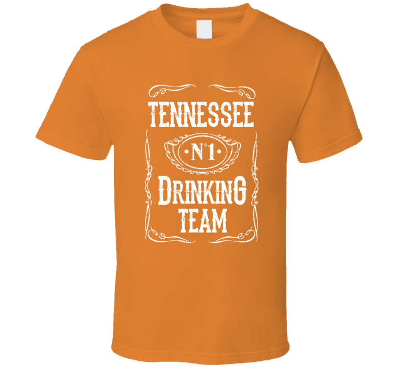 Tennessee No 1 Drinking Team Jack Jim University T Shirt