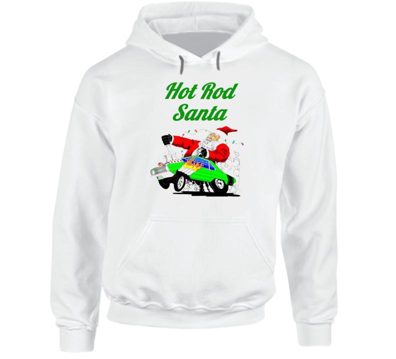 Hot Rod Santa Mopar Christmas Dodge Hoodie Gift Chrysler Plymouth Hoodie