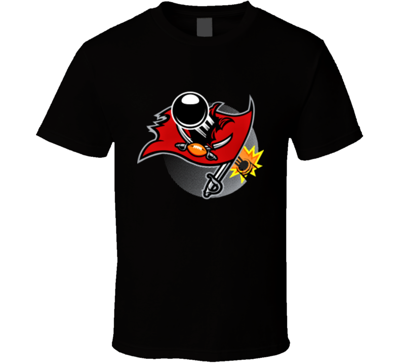 Funny Tampa Bay Buccaneers Parody Shity Pirate Football Tampa T Shirt