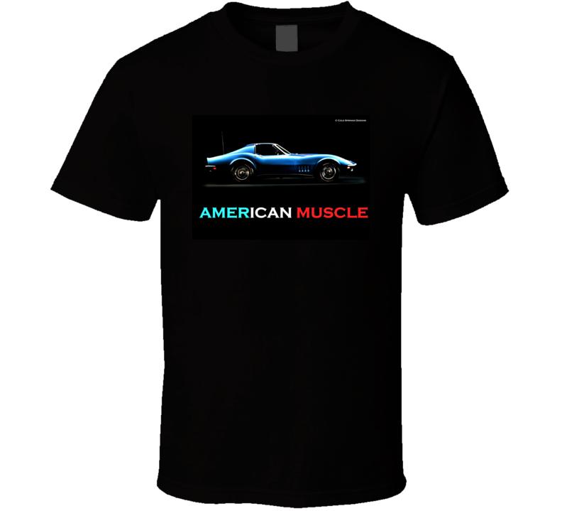 American Muscle Chevrolet Corvette C3 Chevy Vette Gift T Shirt