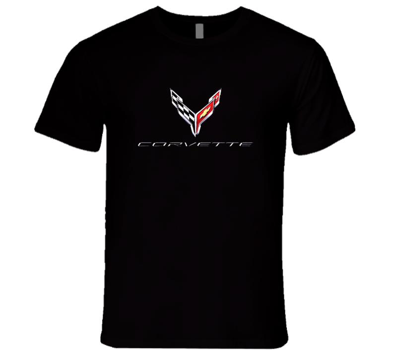 C8 Chevrolet Corvette Emblem 2020 Premium  Gift T Shirt