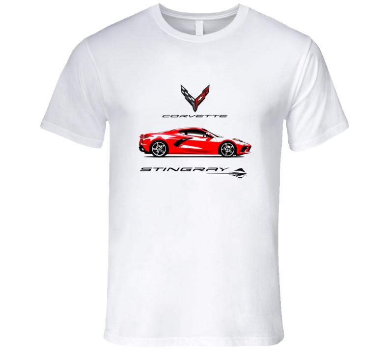 2020 Chevrolet Corvette Stingray C8 Premium Shirt Mid Engine Gift Christmas T Shirt