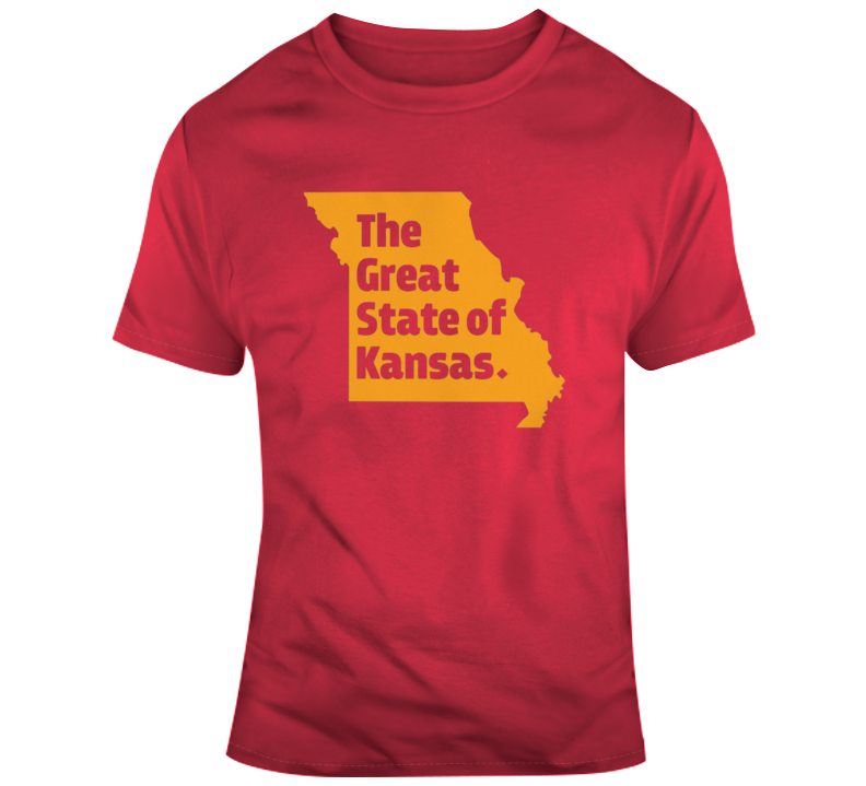 The Great State Of Kansas Trump Spoof Missouri Kansas City T Shirt