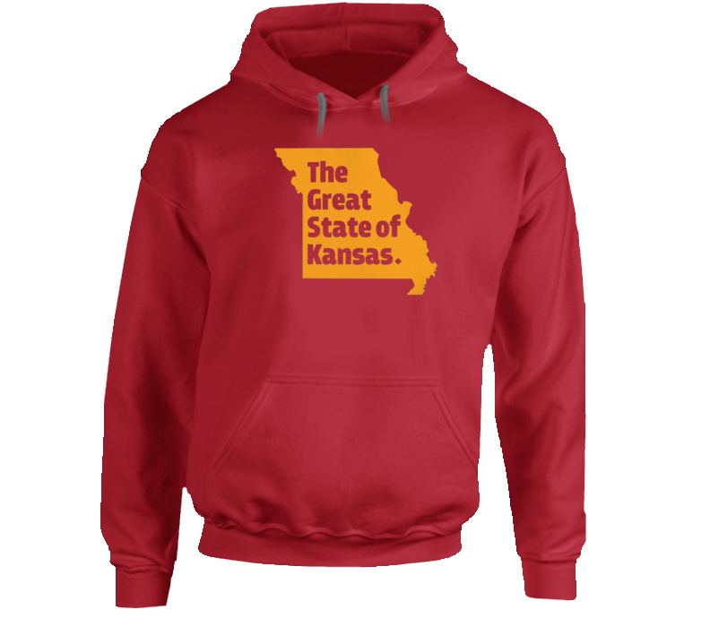 The Great State Of Kansas Trump Spoof Missouri Kansas City Hoodie