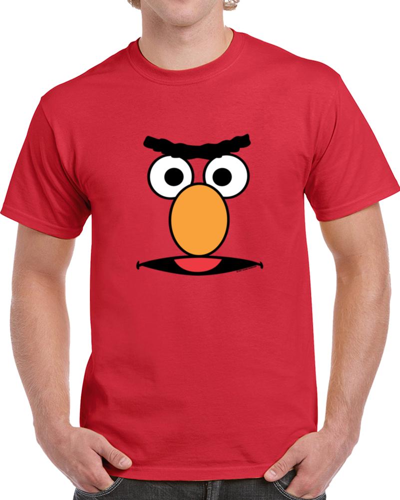 Funny Cartoon Face Like Bert Gift Cute   T Shirt