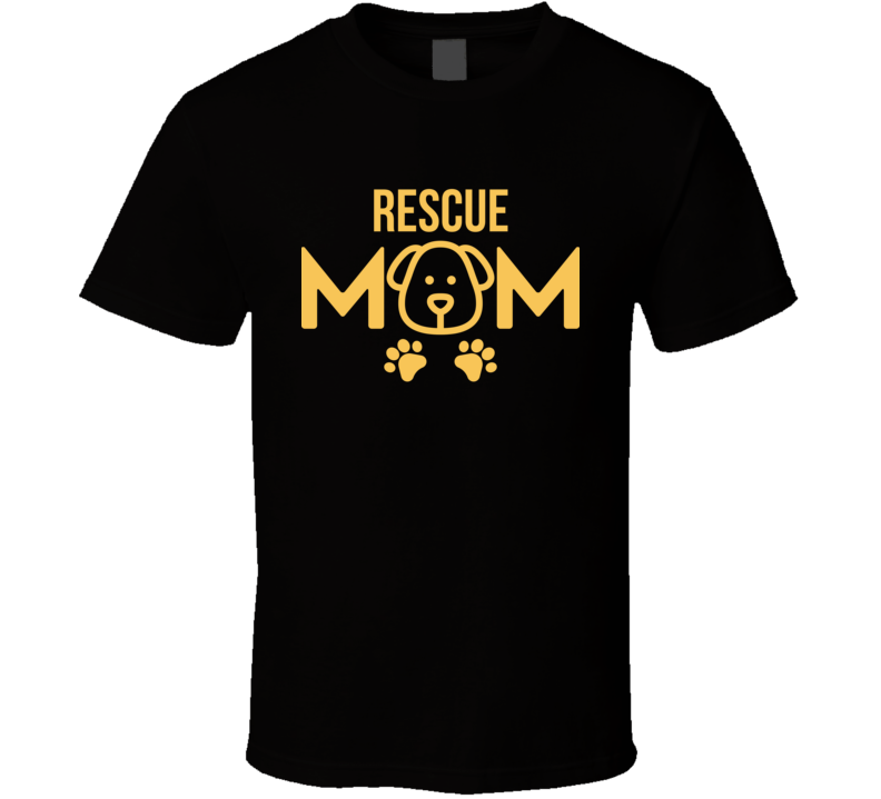 Rescue Mom Puppy Dog Animal Shelter Foster Cute Gift T Shirt