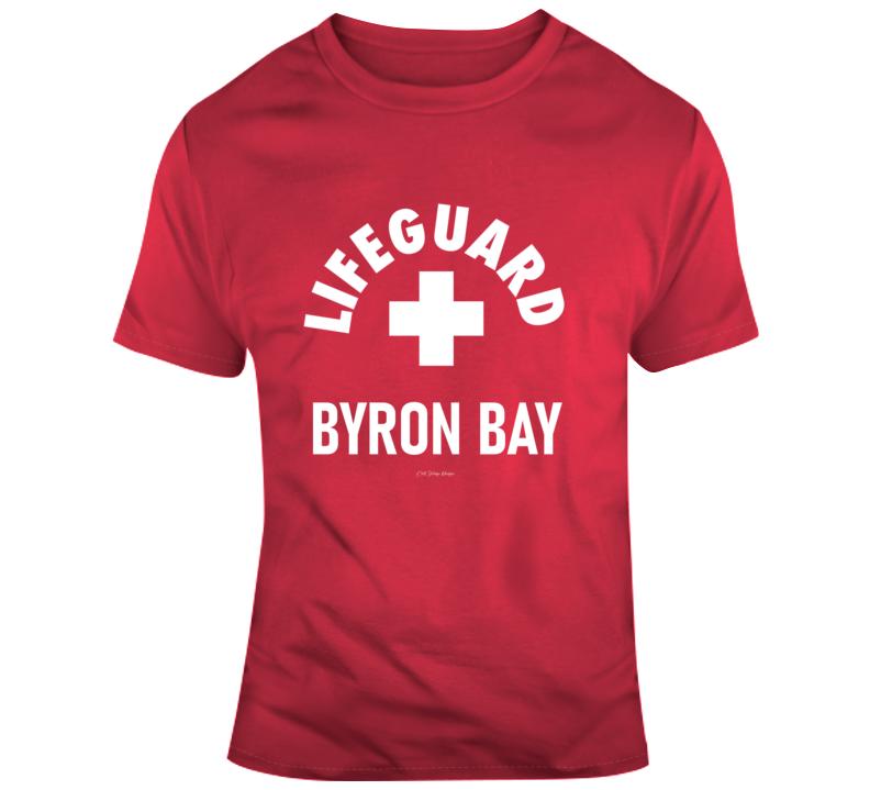 Lifeguard Byron Bay Surfing  Summer Beach Ocean Gift T Shirt
