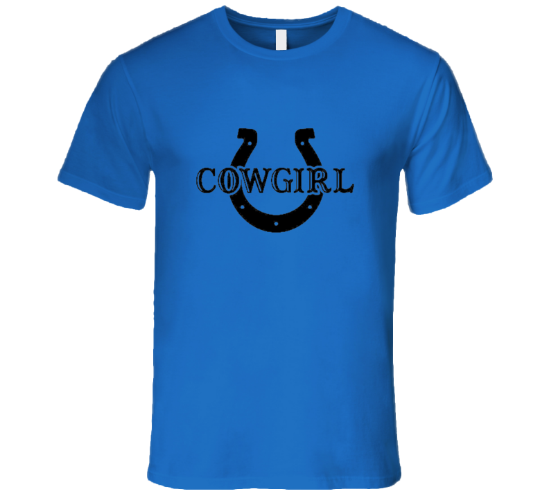 Cowgirl Premium Quality Gift Horseshow Country Western Cowboy Mothers Day T Shirt