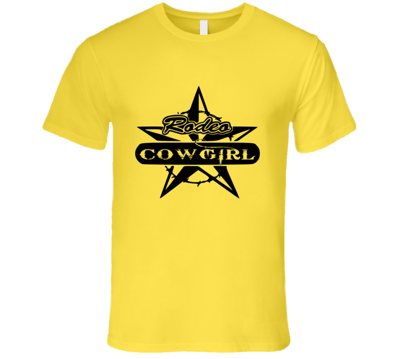 Rodeo Cowgirl Country  Western  Premium Gift T Shirt