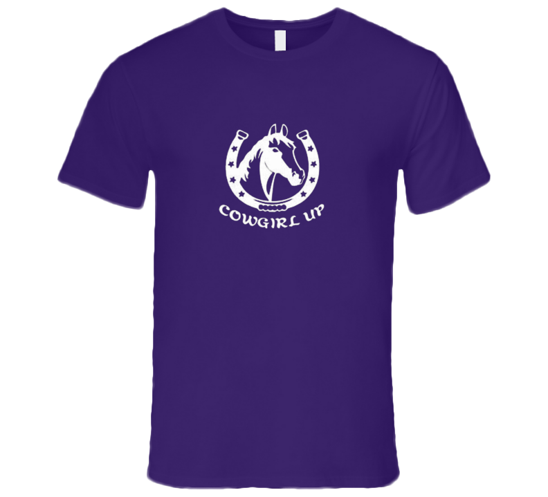 Cowgirl Up Horse Country Western Rodeo Cowboy Premium Gift T Shirt