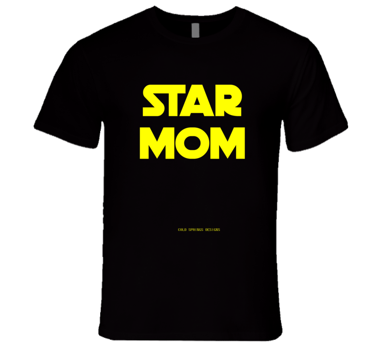 Star Mom Mothers Day Gift Premium T Shirt