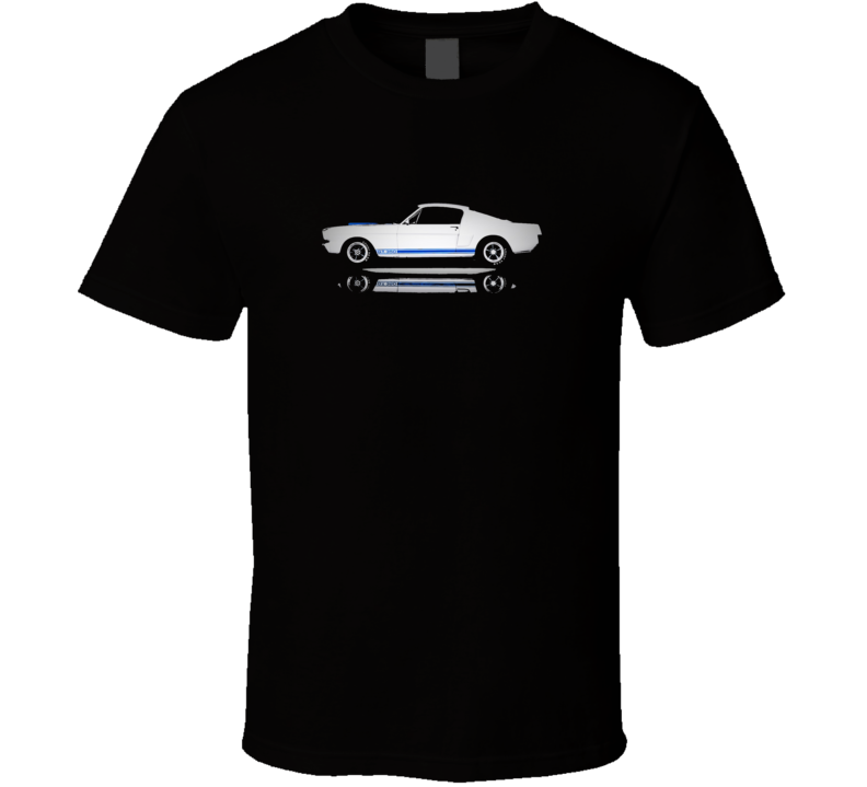 Ford Mustang Shelby Gt 350 1965 Ponycar Musclecar Gift  T Shirt