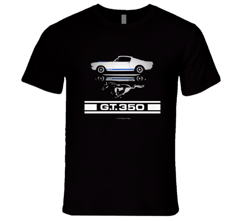 Gt 350 Shelby Ford Mustang 1965 Musclecar Premium Gift Mothers Fathers Day T Shirt