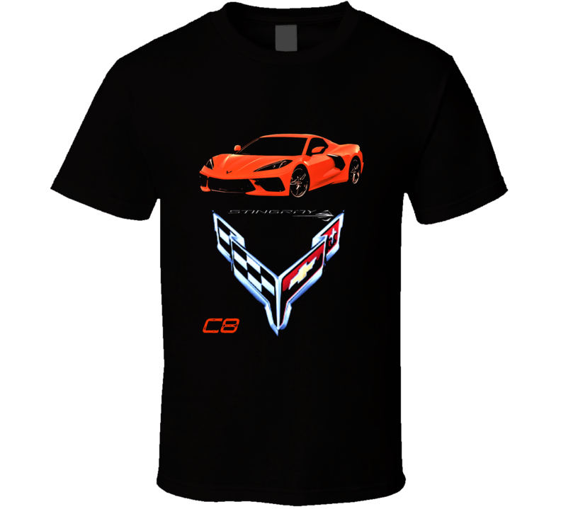 2020 C8 Chevrolet Corvette Stingray Mid Engine 485hp Gift T Shirt