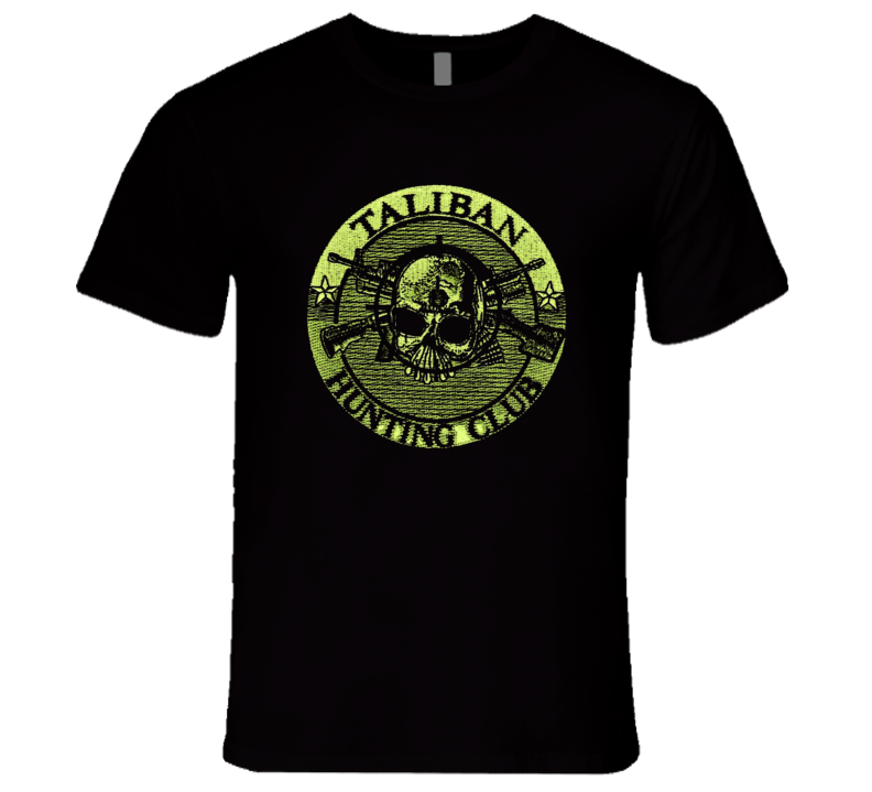 Taliban Hunting Club Military Afghanistan Iraq  Hero Honor Premium Gift T Shirt