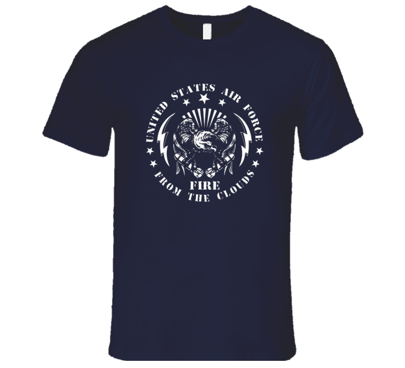 United States Air Force Fire From The Clouds Militart Airman Premium Gift T Shirt