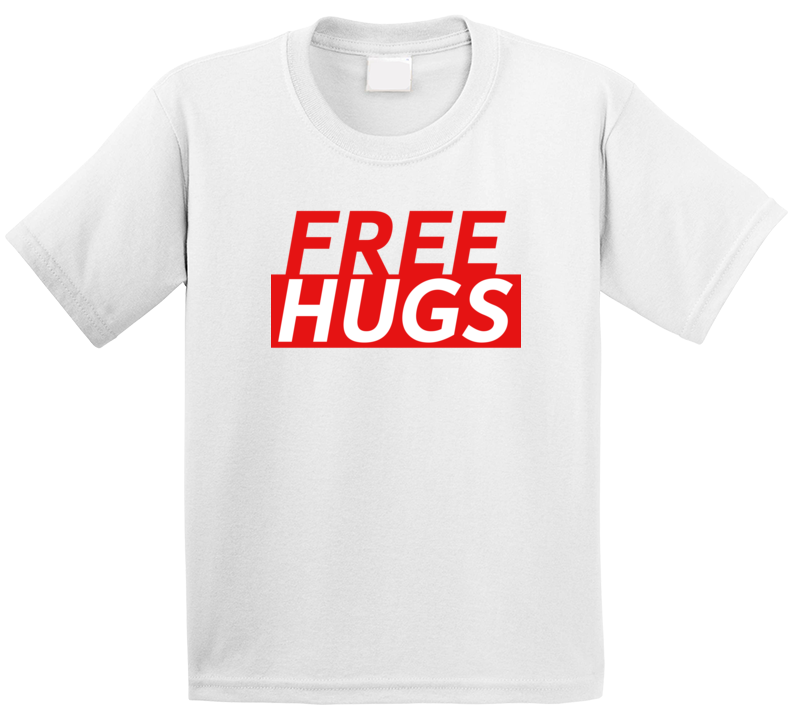 Free Hugs Funny Love Gift T Shirt
