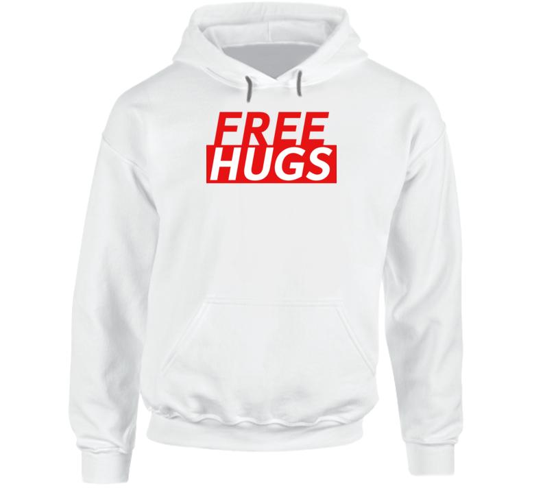 Free Hugs Funny Love Gift Hoodie