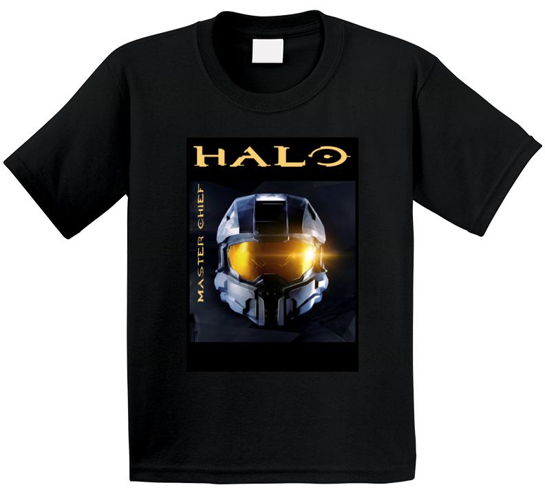 Halo Master Chief Helmet Gift T Shirt