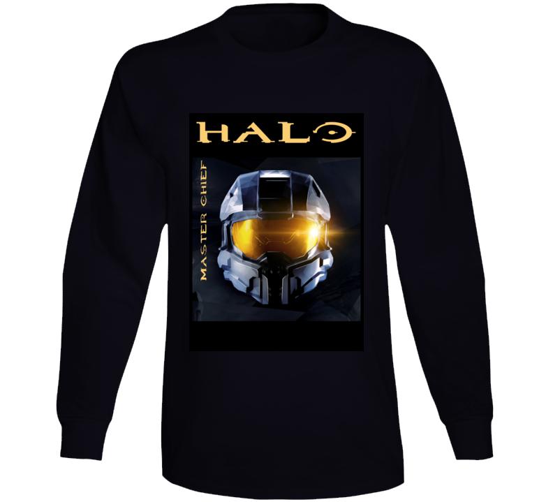 Halo Master Chief Helmet Gift Long Sleeve