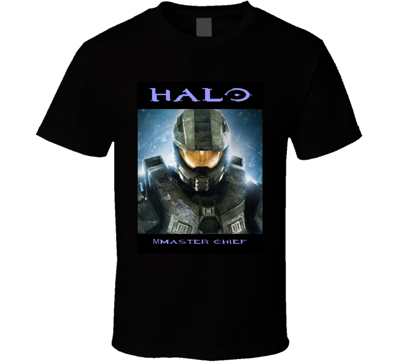 Master Chief Halo Game Gift T Shirt