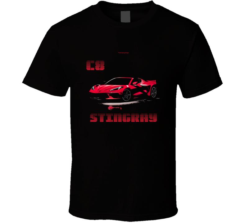 C8 2020 Stingray Vette Midengine 485hp Musclecar Gift T Shirt