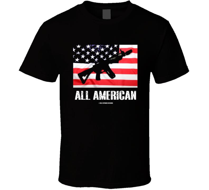 Ar15 All American Second Amendment No Gun Control Gift T Shirt