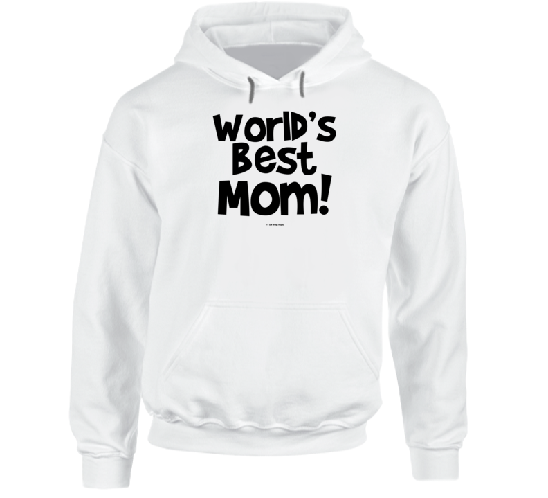 World's Best Mom Mothers Day Gift Cold Springs Designs Hoodie