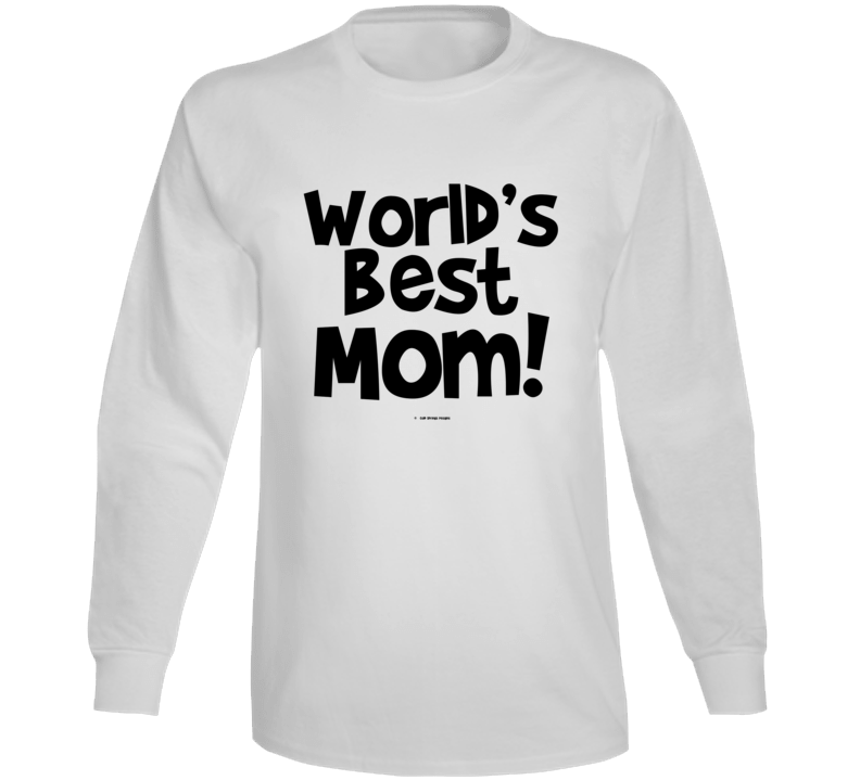 World's Best Mom Mothers Day Gift Cold Springs Designs Long Sleeve T Shirt