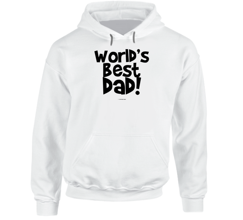 World's Best Dad Fathers Dat Gift Cold Springs Designs Hoodie