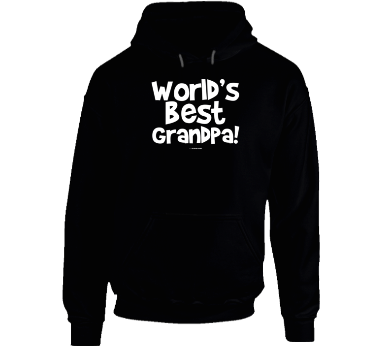 World's Best Grandpagift  Fathers Day Dad Cold Springs Designs Hoodie