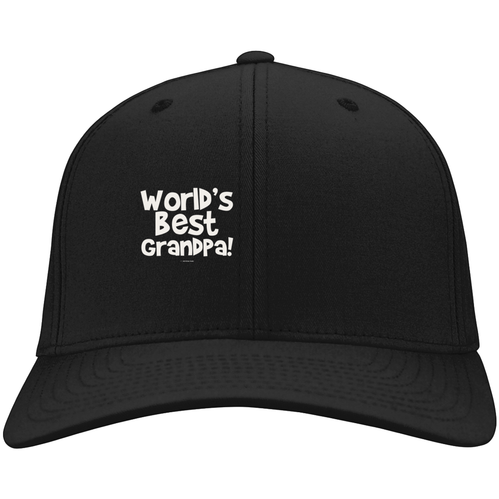 World's Best Grandpagift  Fathers Day Dad Cold Springs Designs Hat